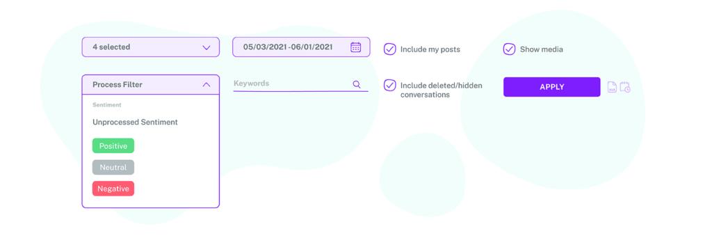 overview of all conversation activities in instagram messaging