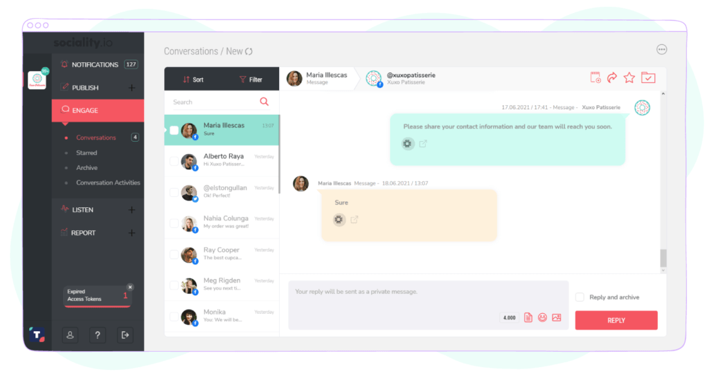 Sociality.io — Community manager software