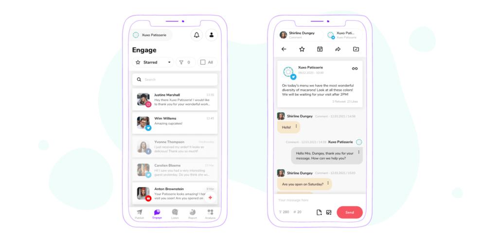 Sociality.io mobile applications