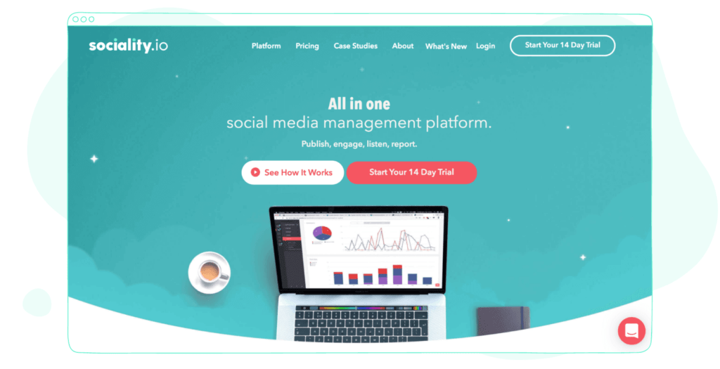 Sociality.io is an all-in-one social media management