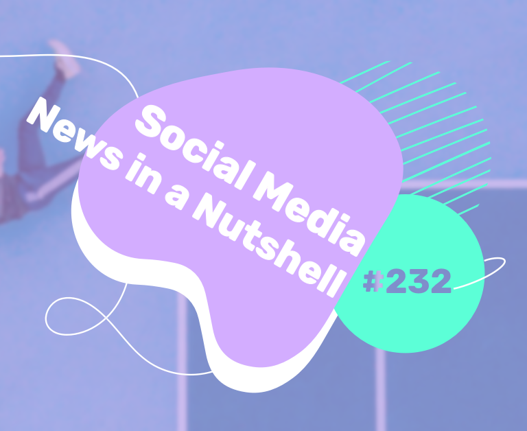 What's going on in the world of social media this week? 17 — 23 August 2021