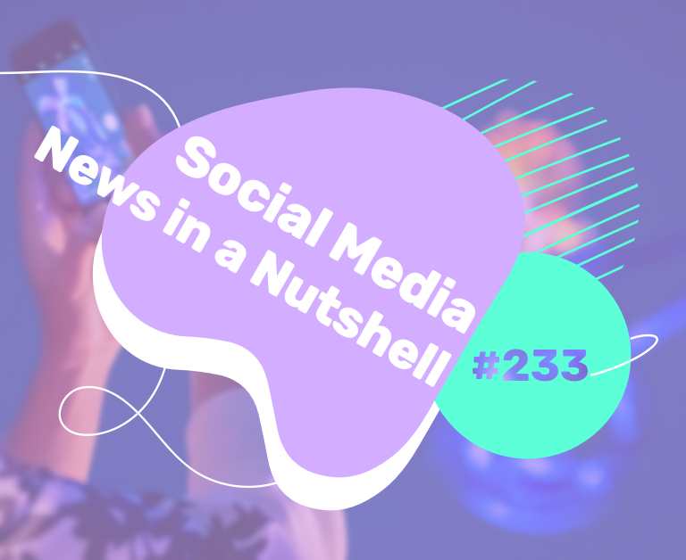 What's going on in the world of social media this week? 24 — 30 August 2021