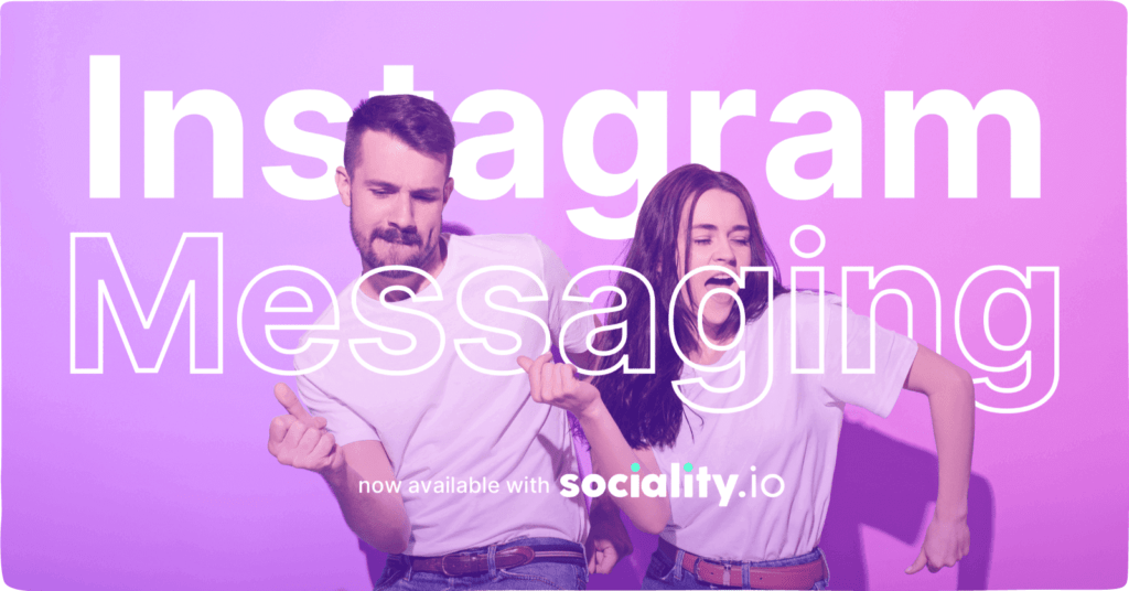 instagram messaging with sociality.io