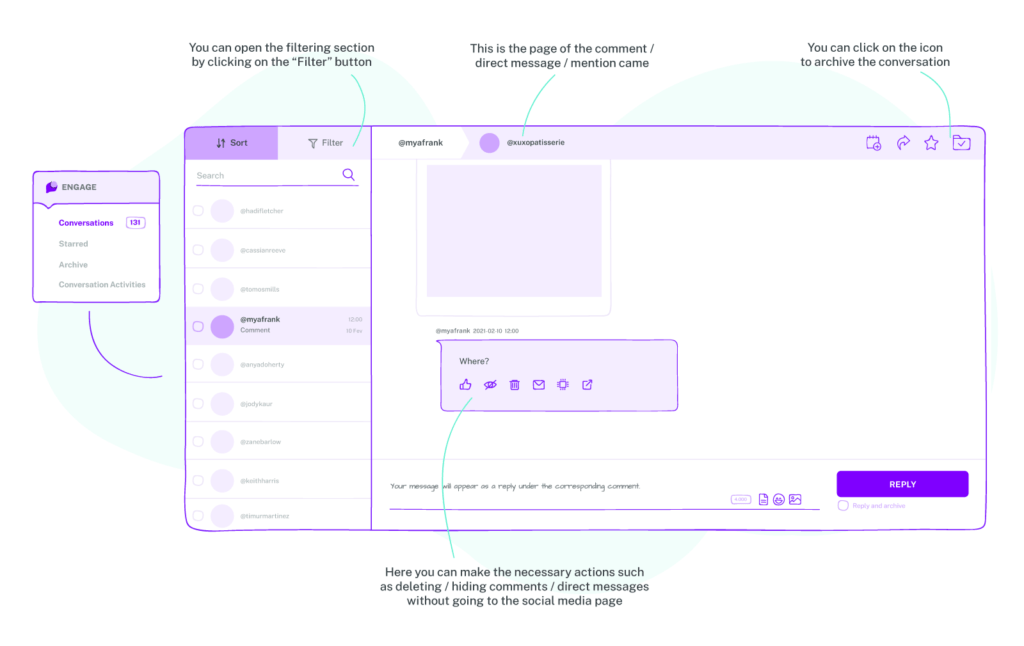 Managing your Instagram account with sociality.io