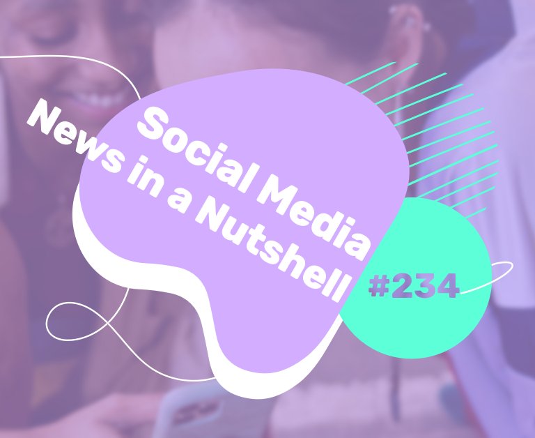 What's going on in the world of social media this week? 31 August — 06 September 2021