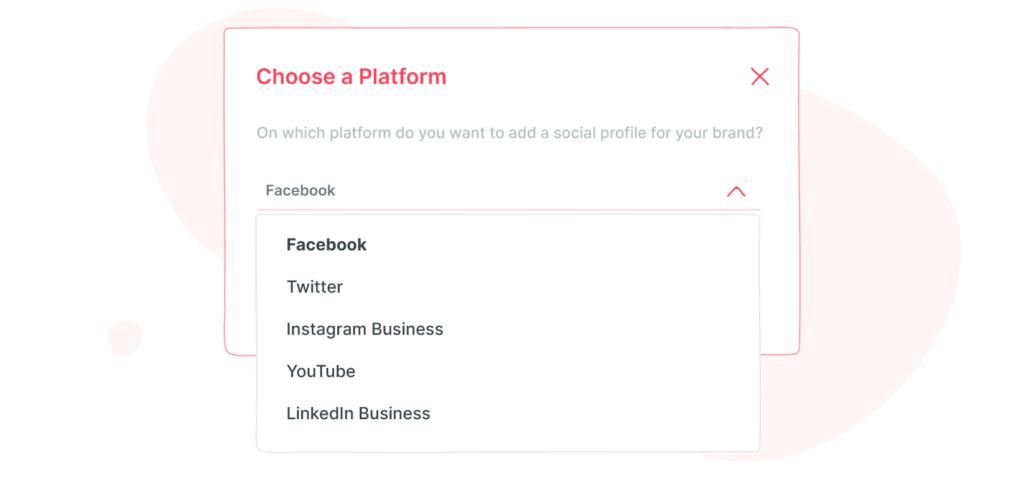 choose a platform to connect