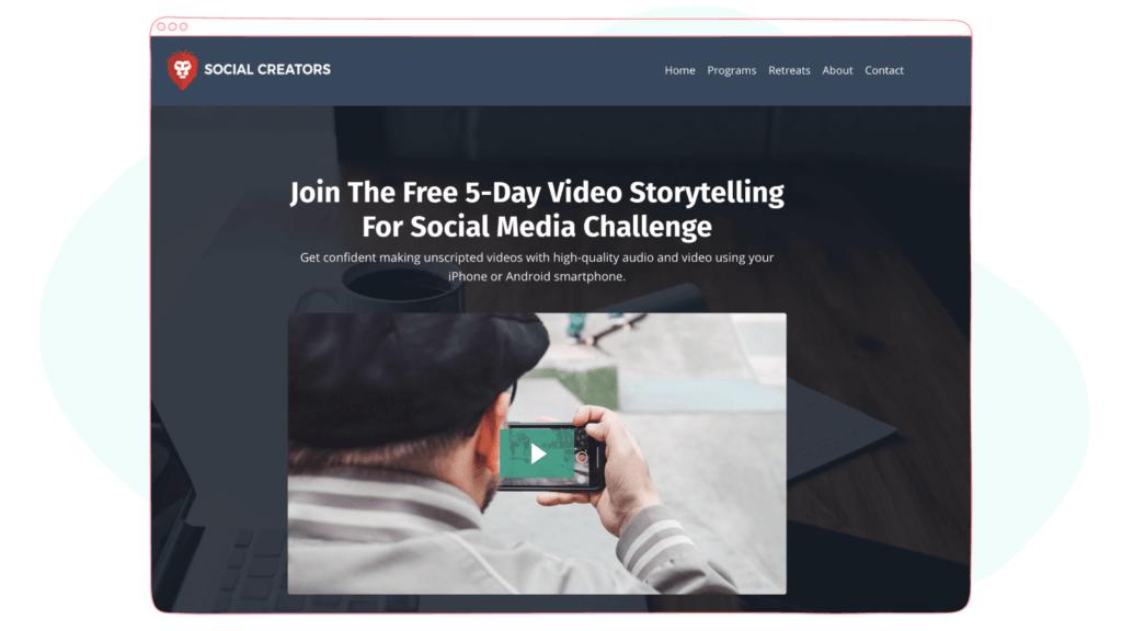 Video Storytelling For Social Media Challenge