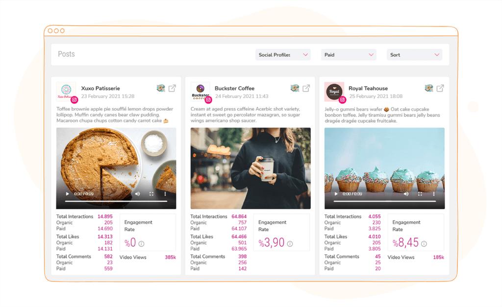 Sociality.io competitor analysis tools social profiles