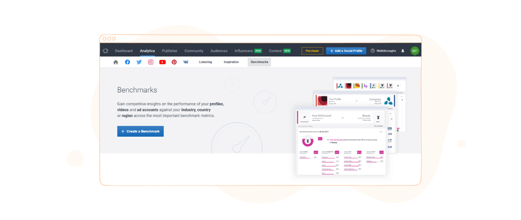 Social Media Competitor Analysis Tools - Socialbakers