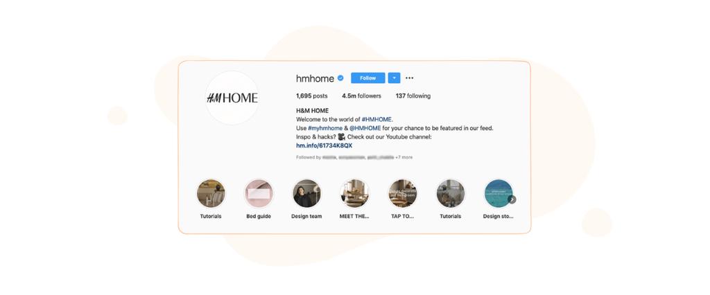 Competitors Instagram Account Profile CTA