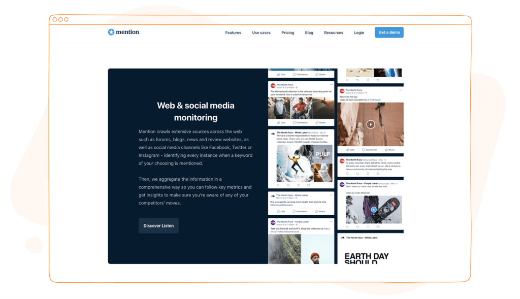 Social Media Competitor Audit Tools - Mention