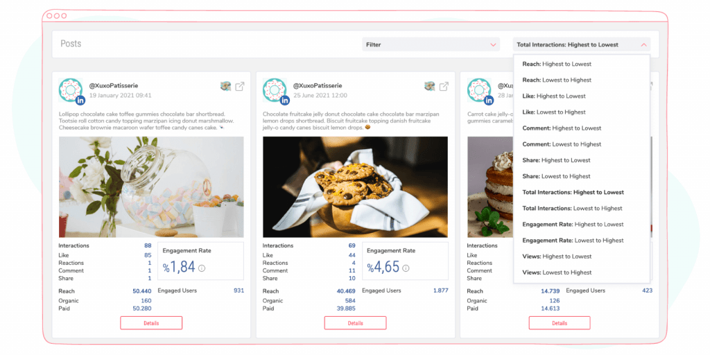 advanced linkedin company page filters