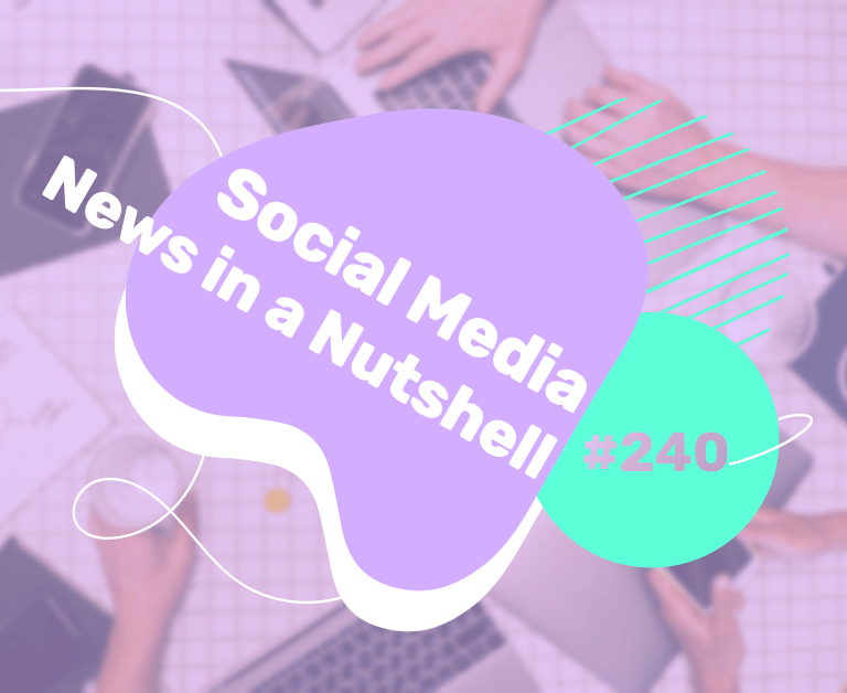 What's going on in the world of social media this week? 12 — 18 October 2021