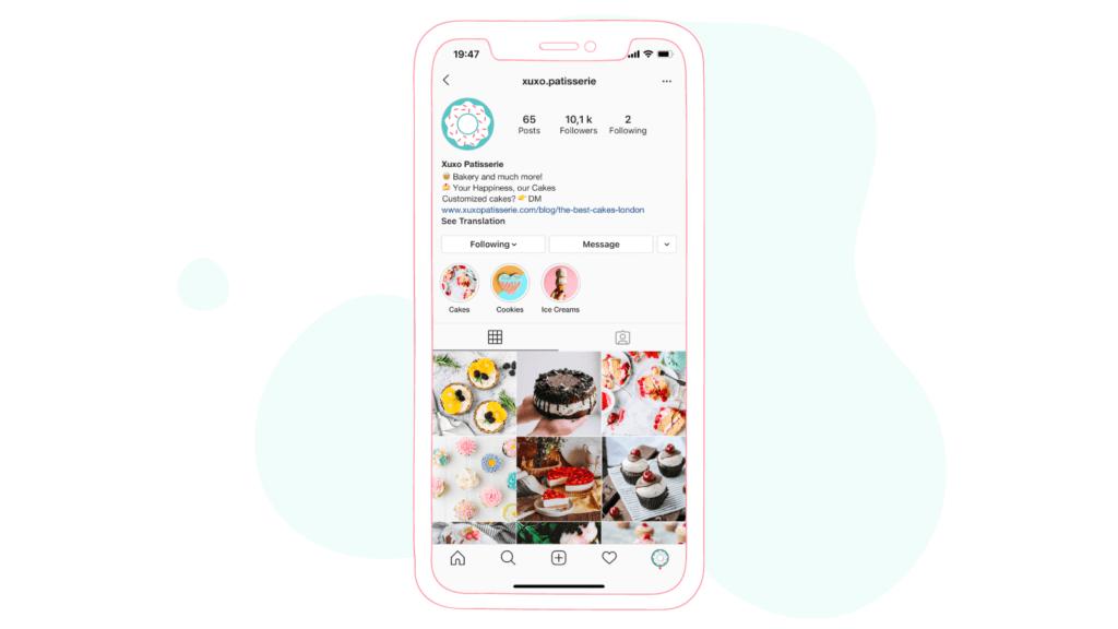 Share Links on Instagram -link in bio