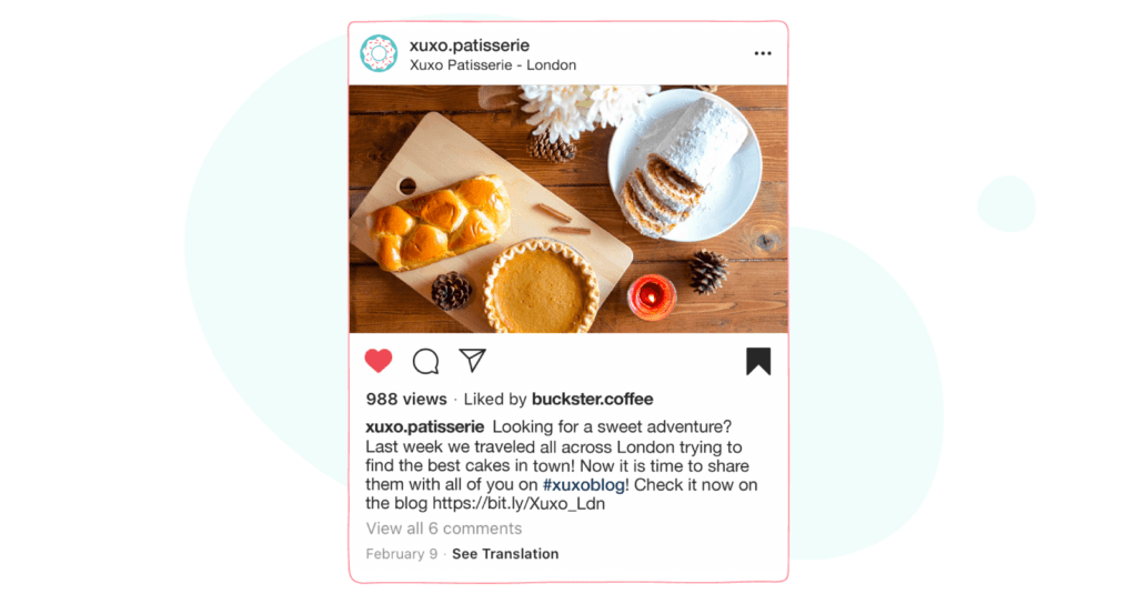 Share Links on Instagram - sharing links on caption