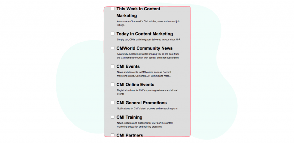 Marketing and Social Media Newsletters - CMI