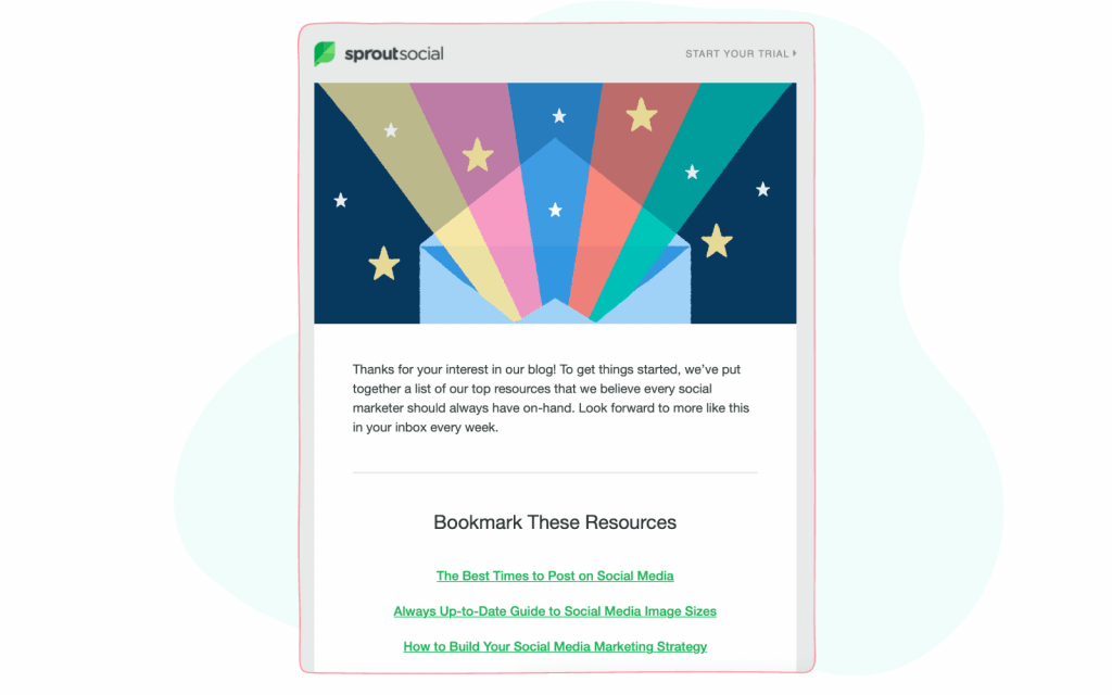 Social Media Newsletters - Sprout Social