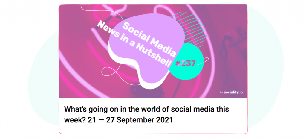 Social Media Newsletters -sociality.io