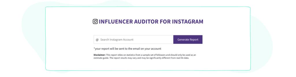 Phlanx Instagram page audit