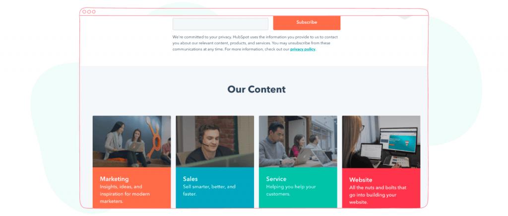 Marketing and Social Media Newsletters - Hubspot Blog